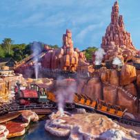 Favorite Attraction: Big Thunder Mountain Railroad