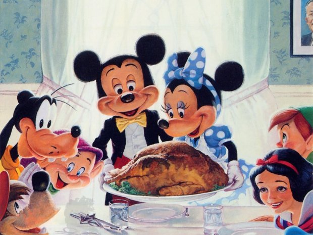 pics-photos-simpsons-thanksgiving-disney