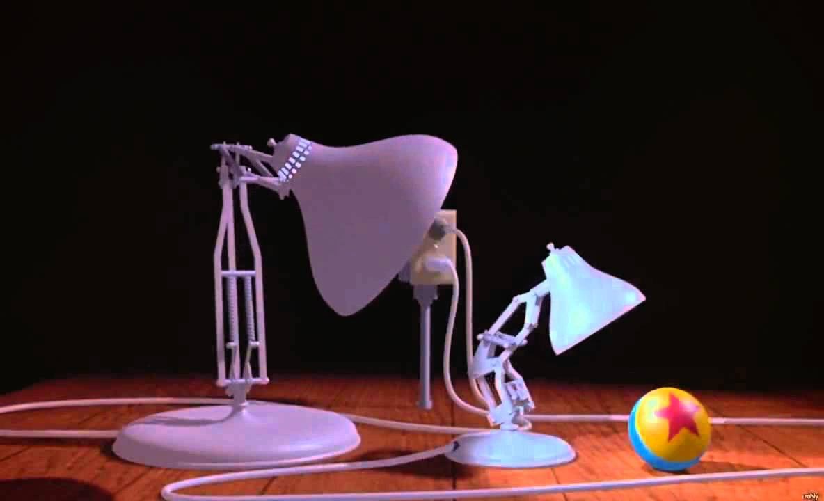 Luxo Jr. Is Everyoneu0027s Favorite Pixar Lamp, From Their First 1986 Short.  Luxo Can Usually Be Found With A Little Ball, And That Ball Has Made Its  Way Into ...